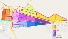 Карта Индустриального Парка Шумен